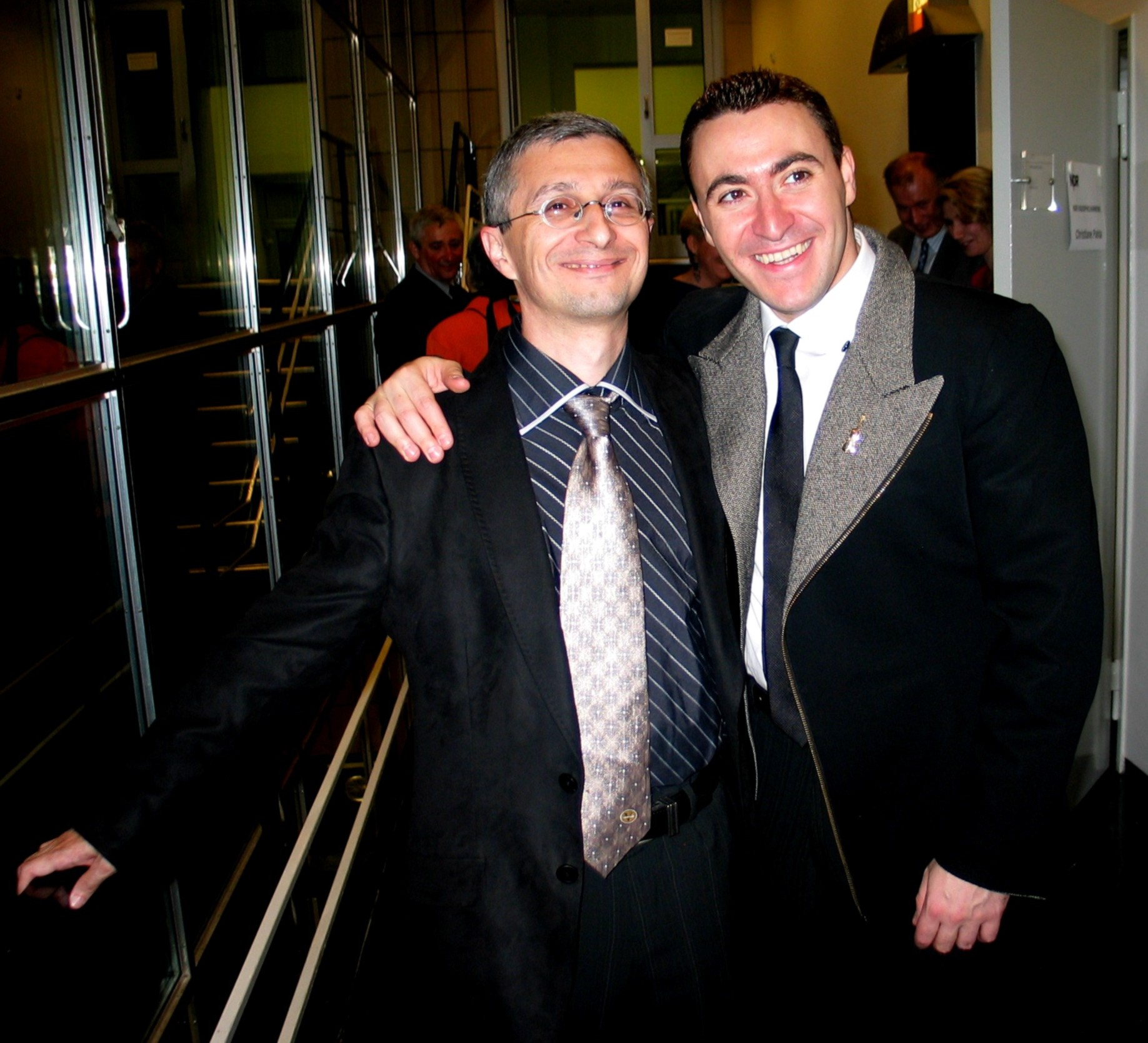 with Maxim Vengerov, Hannover
